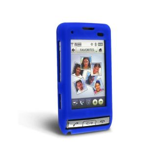Blue Silicone Skin Case for LG Dare VX9700
