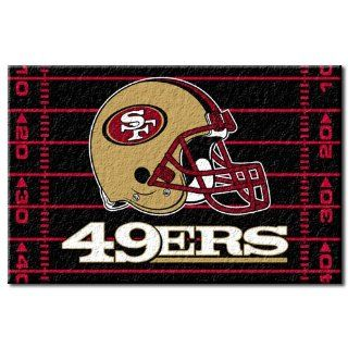 NFL Novelty Rug NFL Team San Francisco 49ers Sports