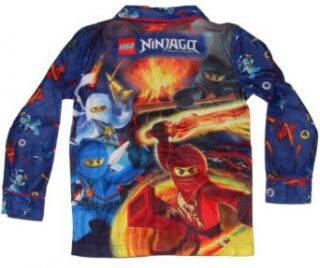 Lego Ninjago 4 Ninja Boys Flannel Pajamas (4) Clothing