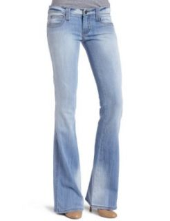 Frankie B. Womens Limited Edition Wide Leg Jean, Vintage