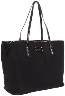 New York Kate Spade Harmony PXRU2655 Diaper Bag,Black,One Size Shoes