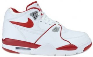 Mens Fashion Sneakers White/Varsity Red Wolf Grey 306252 105 Shoes