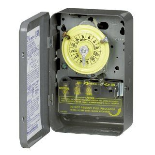 Intermatic T104 208 277 Volt DPST 24 Hour Mechanical Time Switch