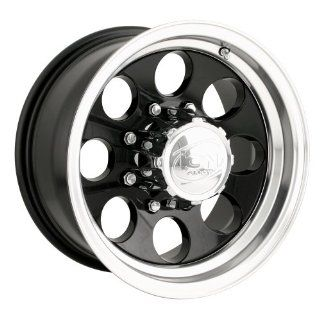 Ion Alloy 171 Black Wheel with Machined Lip (16x8/5x114.3mm)