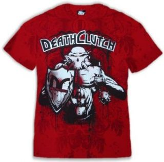 Lesnar Deathclutch Walkout 116 T Shirt #6 (Mens Small, Red) Clothing