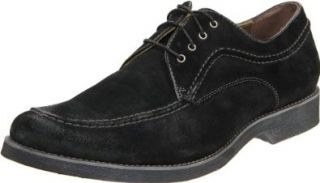 Hush Puppies Mens Commemorate Shoe, Black Washed Suede, 7 M US Shoes