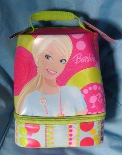 Thermos BARBIE Insulated Lunch Kit (pink & lime green