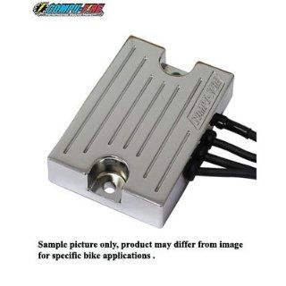 COMPU FIRE Series Type Chrome Billet Replacement Voltage regulator for
