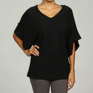 525 America Womens V neck Cashmere Sweater