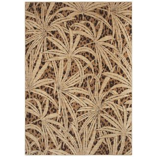 Tommy Bahama Home Rugs   Tossed Palm   Gold