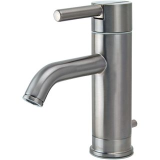 Price Pfister Contempra Single Handle Brushed Nickel Lavatory Faucet