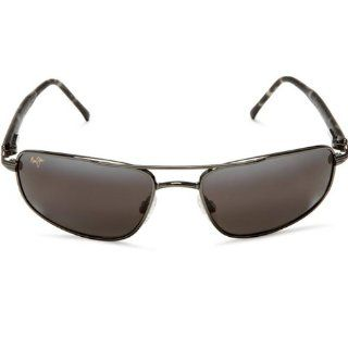 Maui Jim KAHUNA 162 02 sunglasses Gunmetal / Neutral Grey