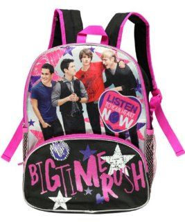 16 Big Time Rush Listen to Your Heart Backpack tote bag
