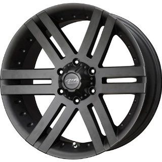 MB Wheels Vortex Matte Black Wheel with Painted Finish (18x8.5