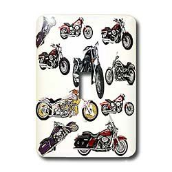 3dRose LLC lsp_5730_1 Light Switch Cover Picturing Harley Davidson