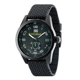 Pirelli R7951105015 Racing Mens Analog Date Watch Black Rubber Band