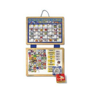 Melissa & Doug My Monthly Magnetic Calendar Today $24.79