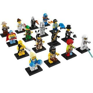 Lego 8683 Minifigures Series 1   Complete Set of 16 Toys
