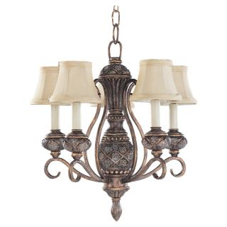 Sea Gull Lighting Highlands 5 light Regal Bronze Chandelier Today $
