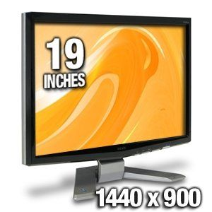 Acer P191WD 19 Widescreen LCD Monitor Computers