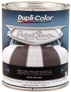 Dupli Color BSP201 Championship White Paint Shop Finish System   32 oz