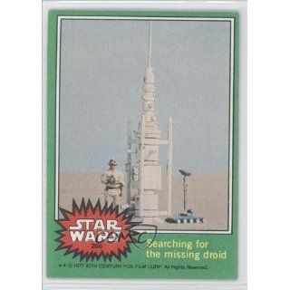 the missing droid (Trading Card) 1977 Star Wars #206