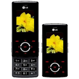 LG MG280 Black Unlocked GSM Cell Phone