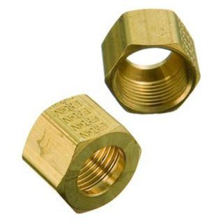Utility 69685 7/16 Tube Nut Brass Compression Fitting Be the first