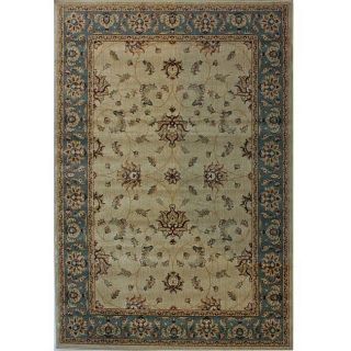 Alexa Kharma Collection Oriental Persian Ivory Rug (710 x 112