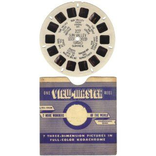 1943 1946 Sawyers View Master Reel No. 207 Sun Valley Idaho Summer