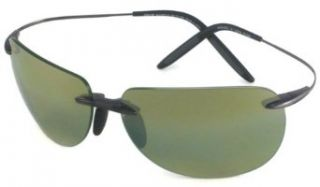 Maui Jim 527 02 Black nakalele Rimless Sunglasses