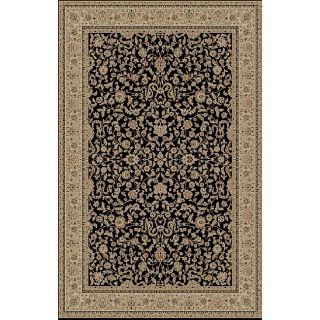 Kashmir Black Area Rug (89 x 123)