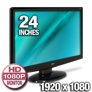 Acer H243Hbmid 24 Widescreen HD LCD Monitor   1920 x 1080