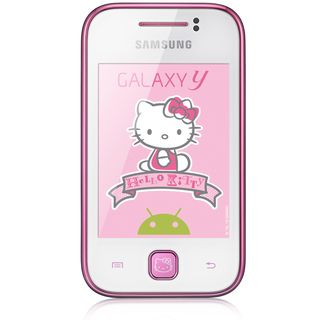 Samsung Galaxy Y S5360 GSM Unlocked Hello Kitty Android Cell Phone