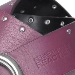 Kenneth Cole Reaction Womens Genuine Leather Studded Belt