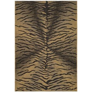 Indoor/ Outdoor Black/ Natural Rug (710 x 11)