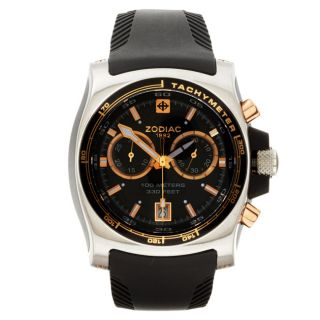 Zodiac Mens Super Sport Timer Chronograph Watch